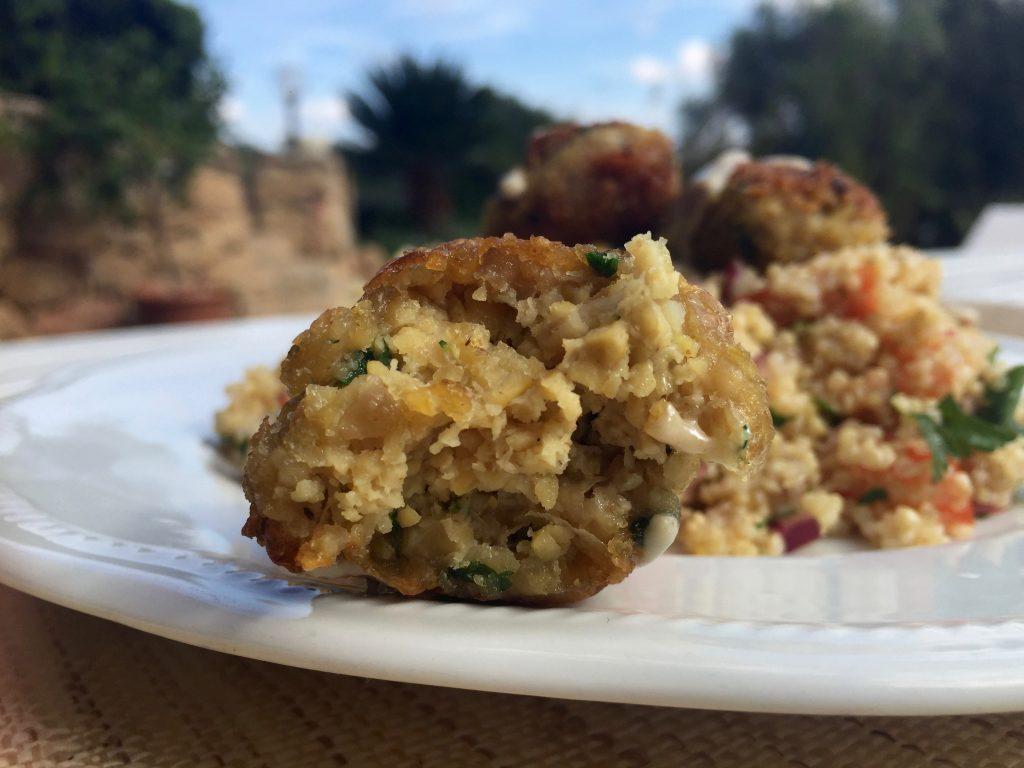 Homemade Chickpea Falafels